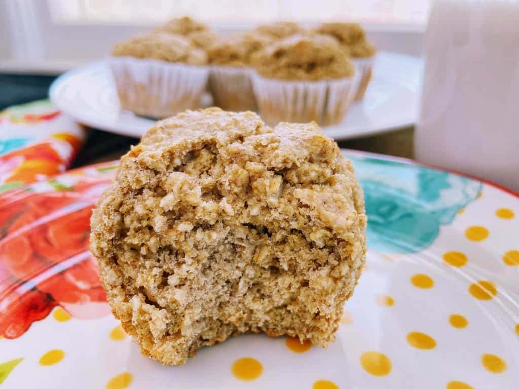 Oat Banana Muffins