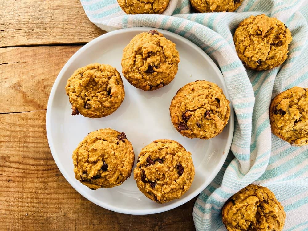 Recipe for Pumpkin Chocolate Chip Muffins   Allergy a la Mode